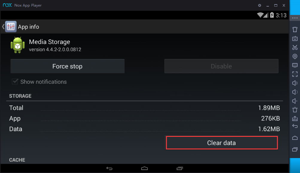 Clean up Cache to make Nox App Player run faster | NoxPlayer