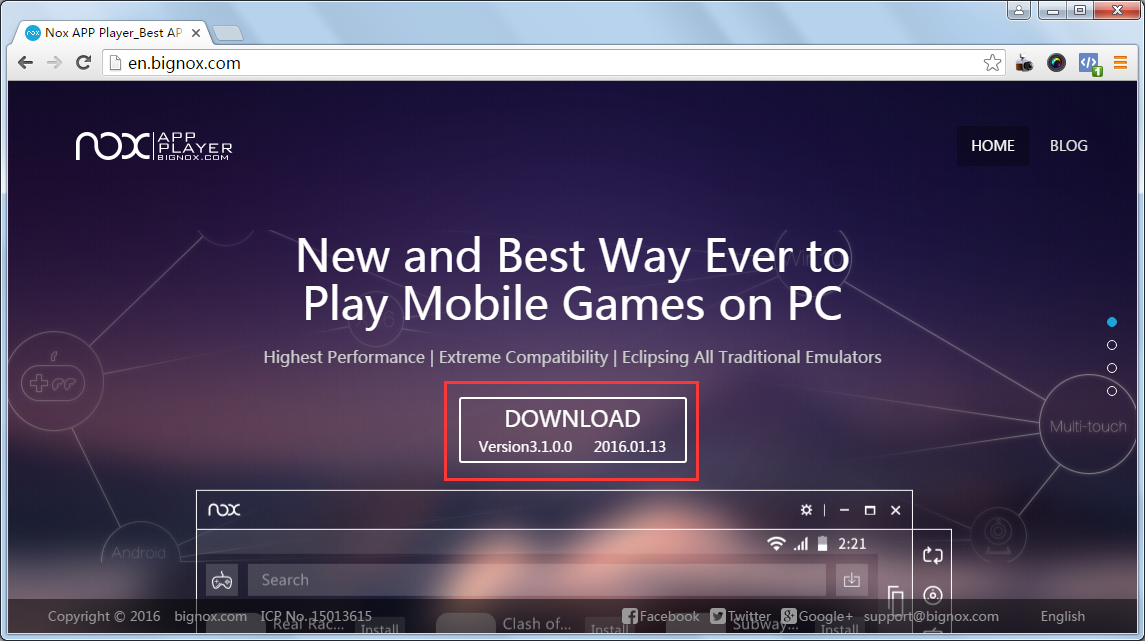 Sixth image of Official Website with How to play Android games on PC with Nox App Player ...
