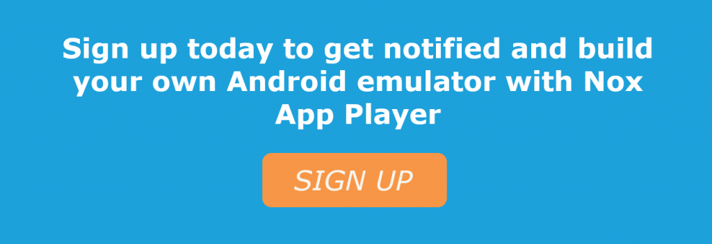 Build custom Android emulator