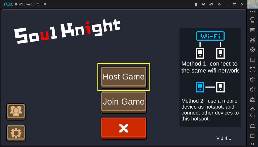 How to play Soul Knight multiplayer mode on PC with