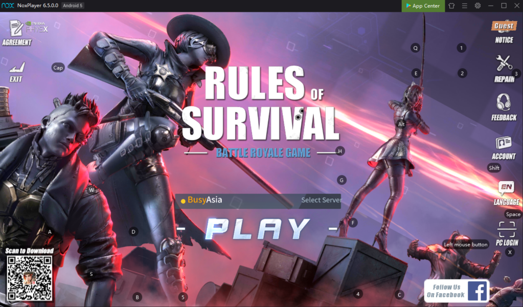 How To Set Up Keyboard Control In Noxplayer To Play Rules Of