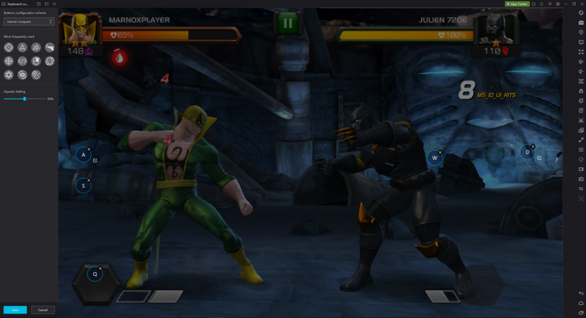 Play Marvel Contest of champions on pc with NoxPlayer to get