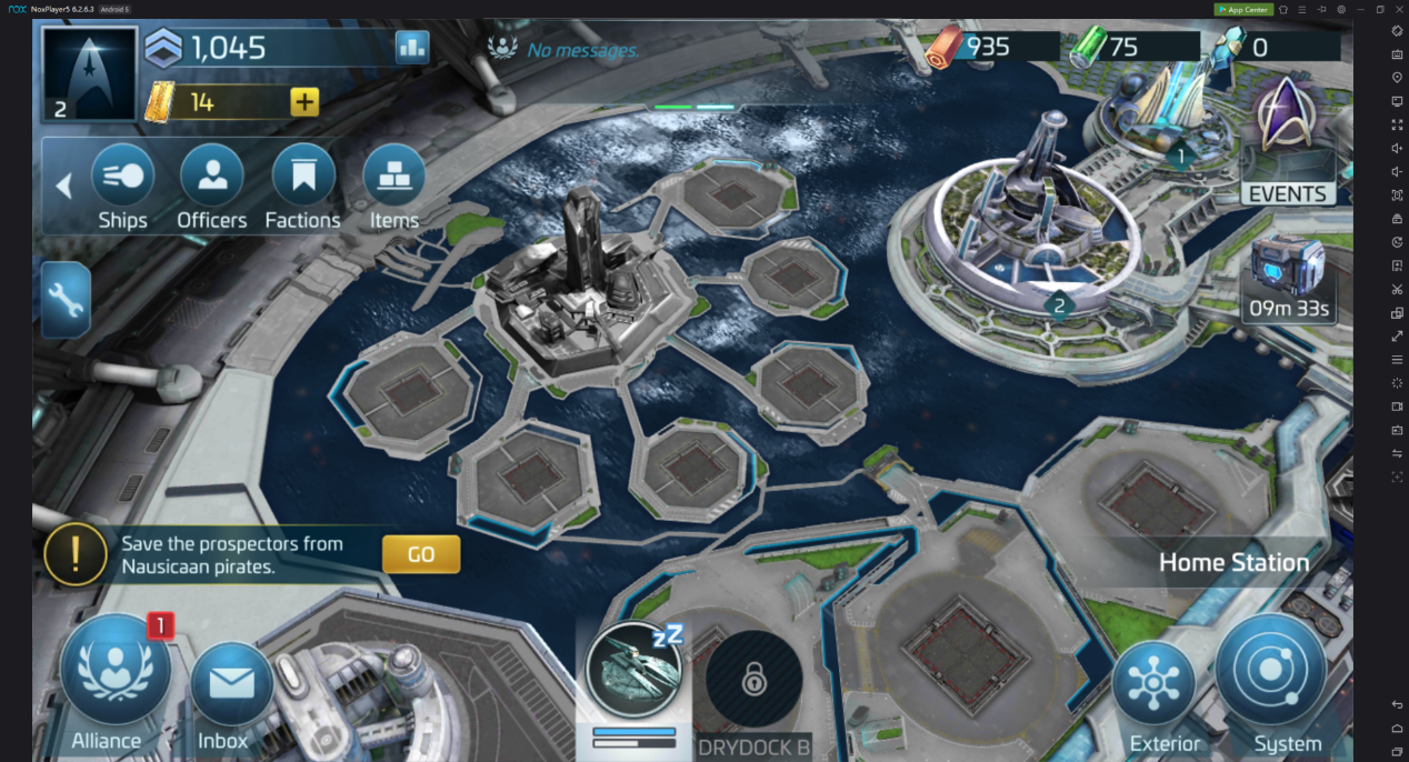 Play Star Trek Fleet Command On Your Computer With Noxplayer