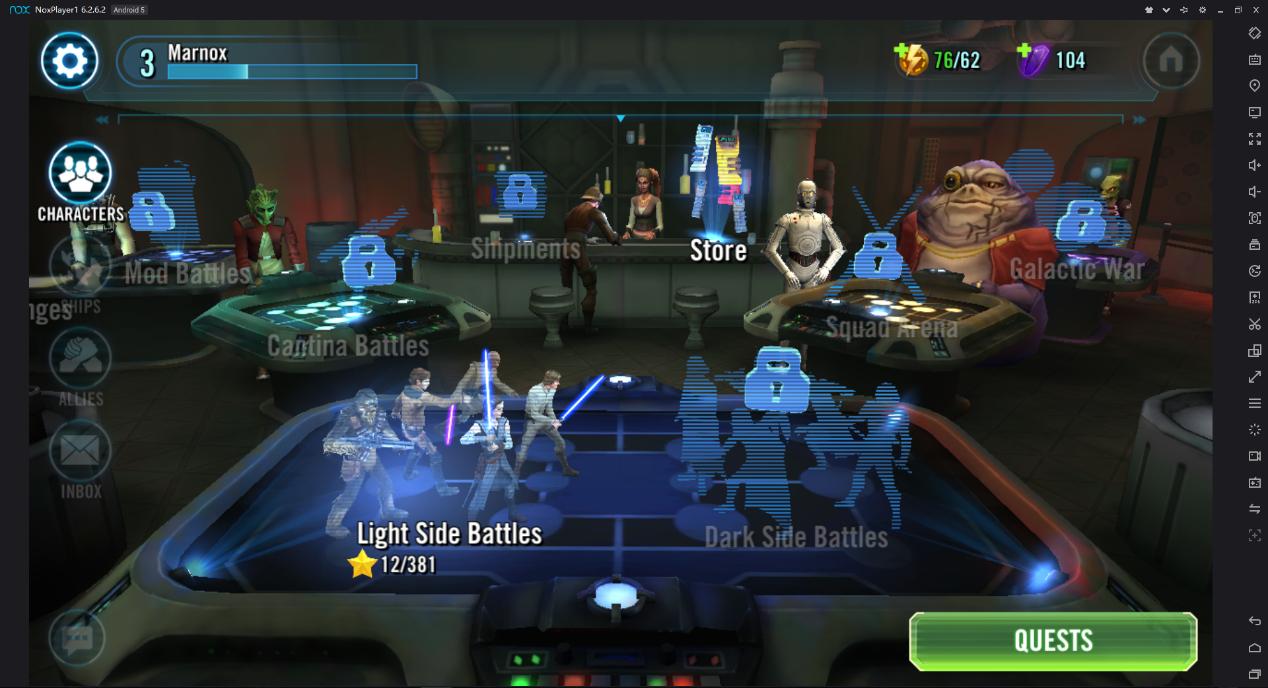 Emulator star wars galaxy of heroes   Peatix