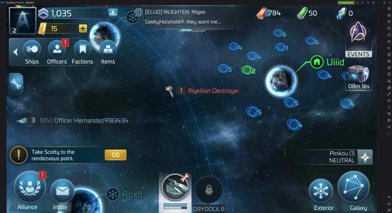 Play Star Trek: Fleet Command on your computer with NoxPlayer