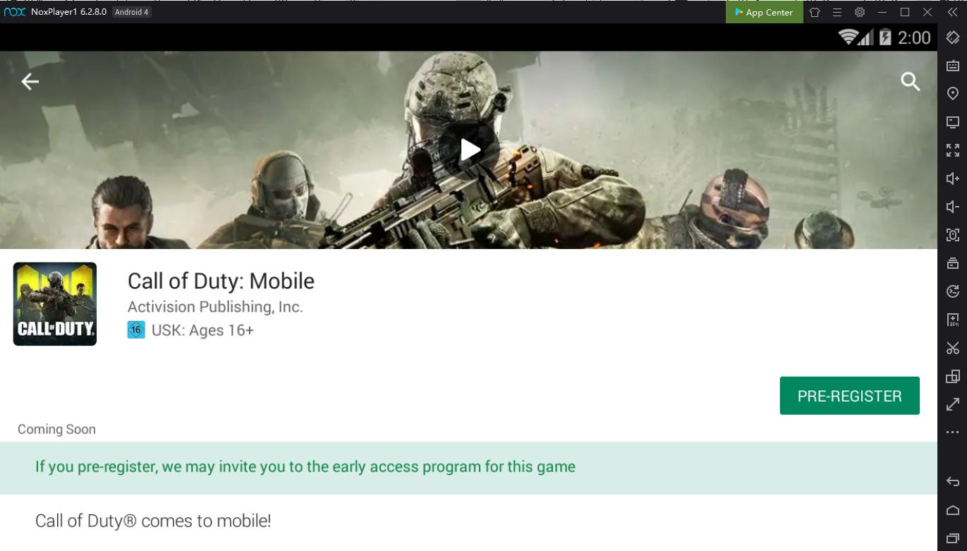 Call of Duty Mobile - Play on PC with NoxPlayer | NoxPlayer