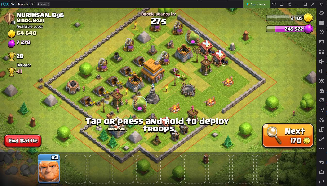 Play Clash of Clans on PC with NoxPlayer: Tips and Tricks