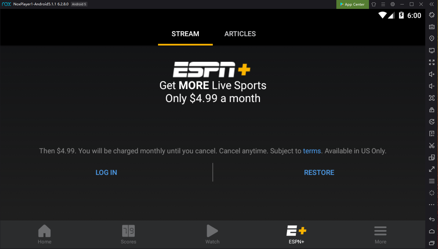 Download ESPN App on PC with NoxPlayer | NoxPlayer