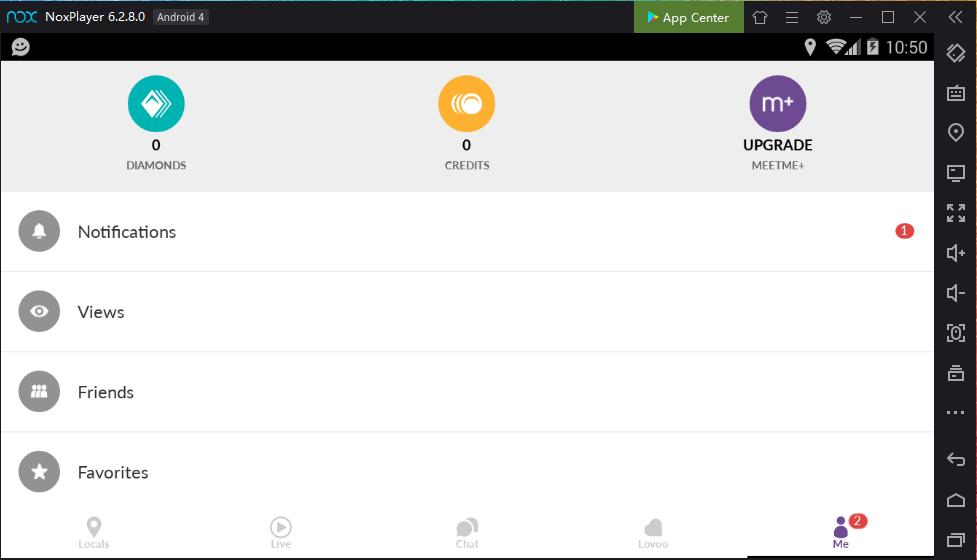 Diamonds app meet me MeetMe: Chat