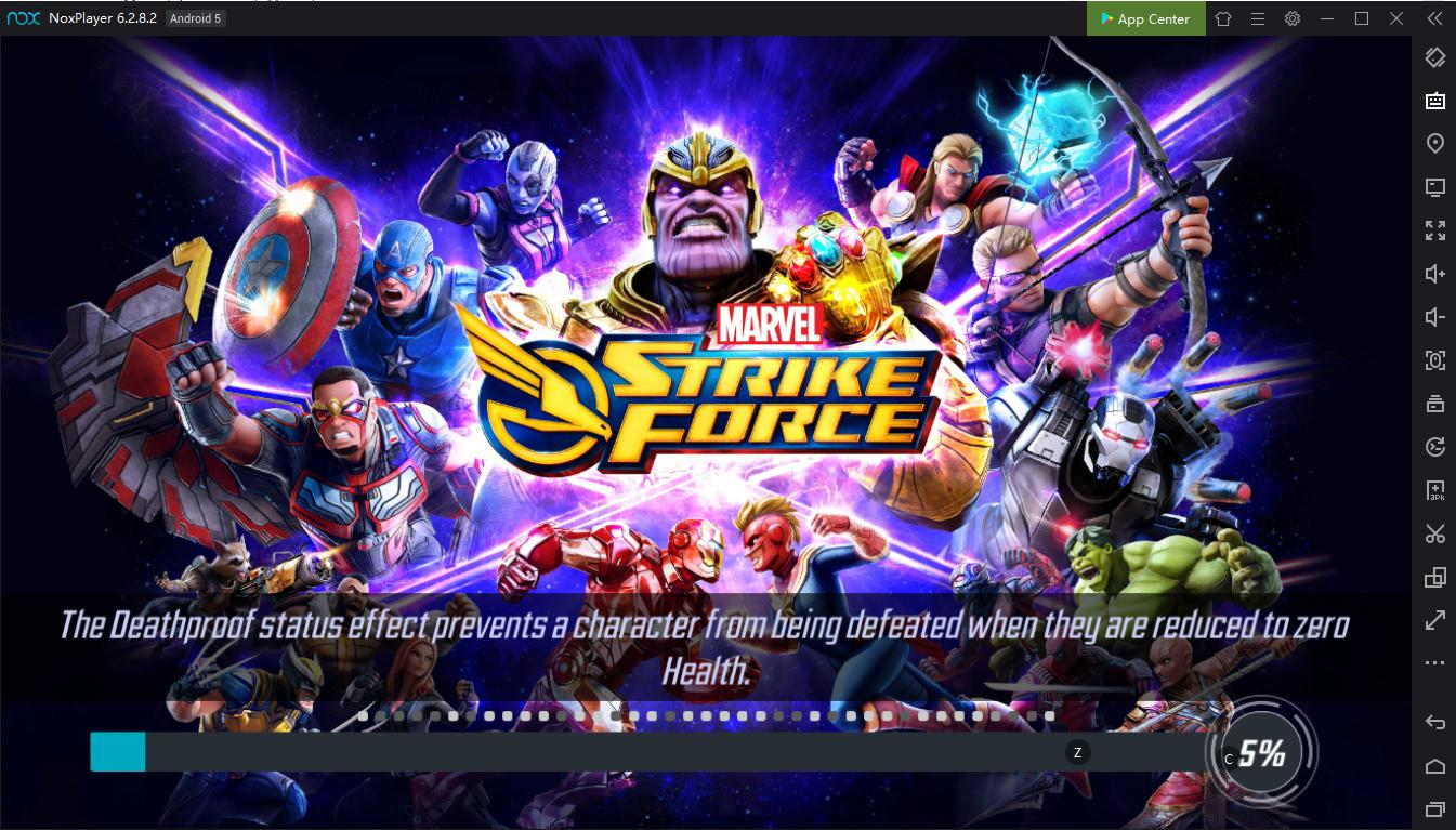Experience the best Android games from Marvel Universe on PC with