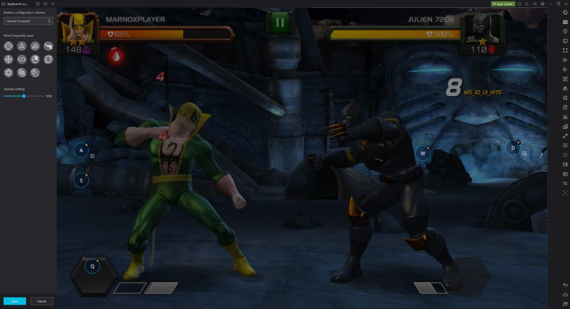 Experience the best Android games from Marvel Universe on PC
