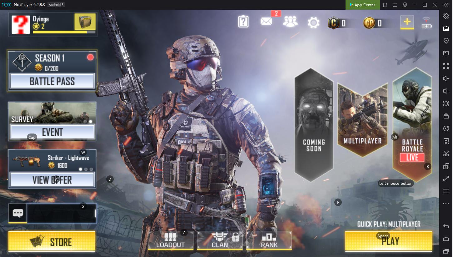 How to play Call of Duty mobile on PC with NoxPlayer? | NoxPlayer