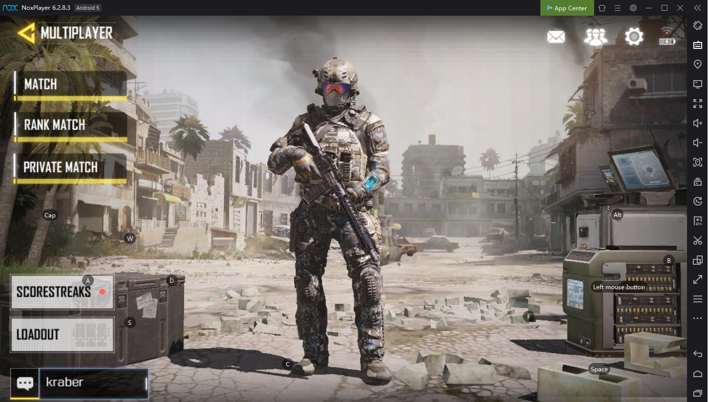 How to play Call of Duty mobile on PC with NoxPlayer