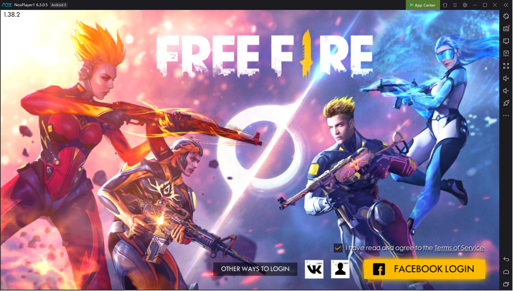 Using Keyboard Control To Play Free Fire On Pc With
