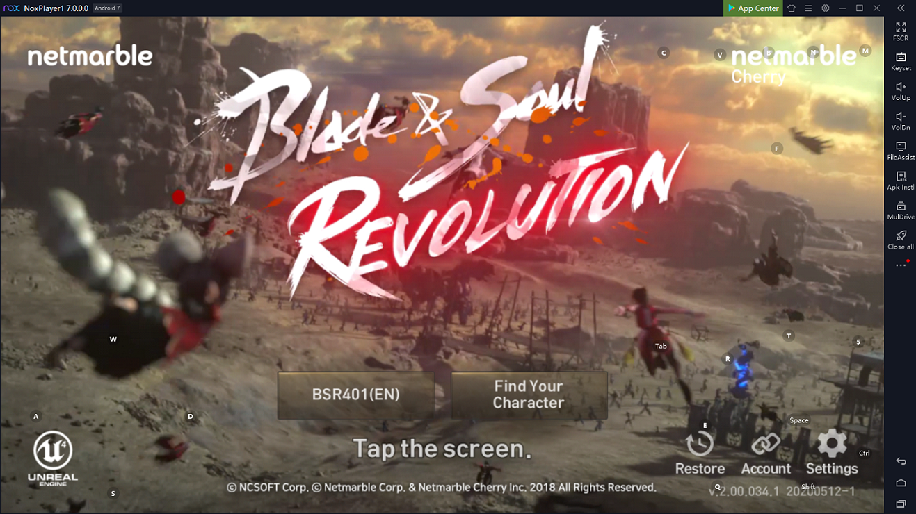 Blade and soul online