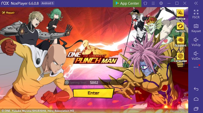 Play ONE PUNCH MAN: The Strongest on PC with NoxPlayer – NoxPlayer