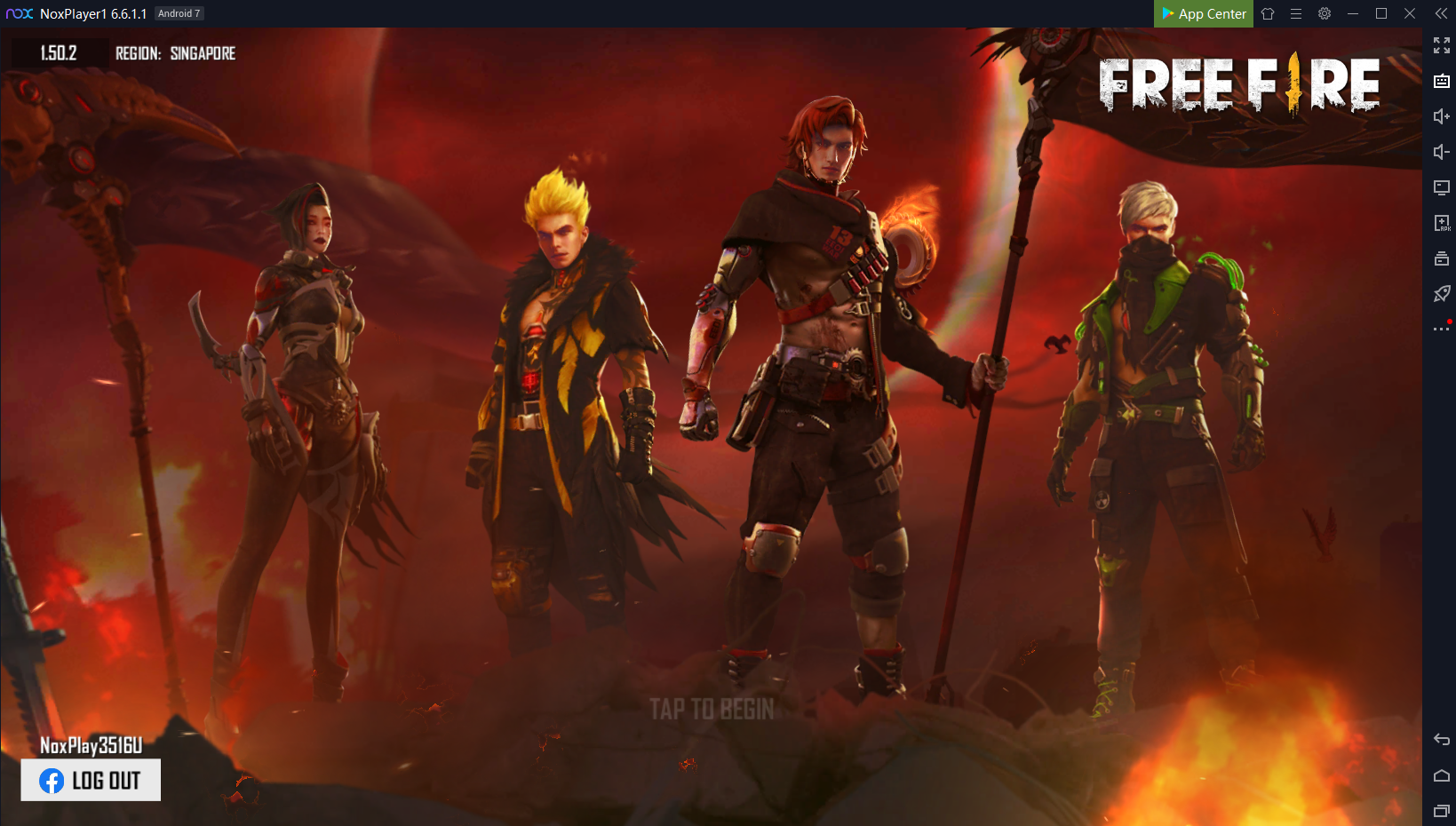 Play Garena Free Fire On Pc With Noxplayer Top Up With Codashop Noxplayer